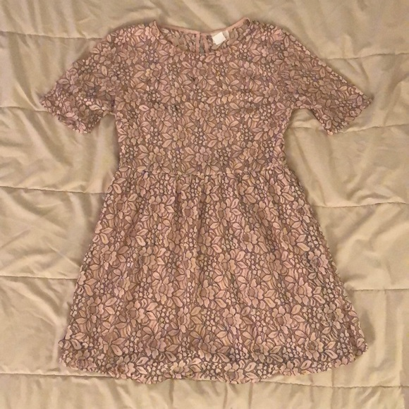 one clothing Dresses & Skirts - Light Pink Flowered Dress